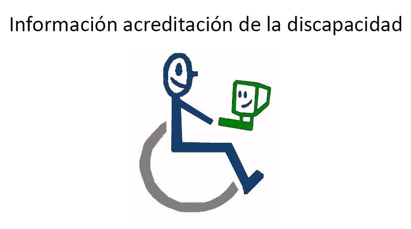 Información acreditación de la discapacidad